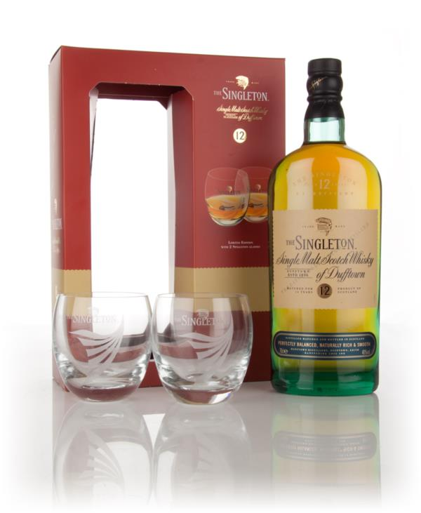 Singleton of Dufftown 12 Year Old Gift Pack with 2x Glasses Single Malt Whisky