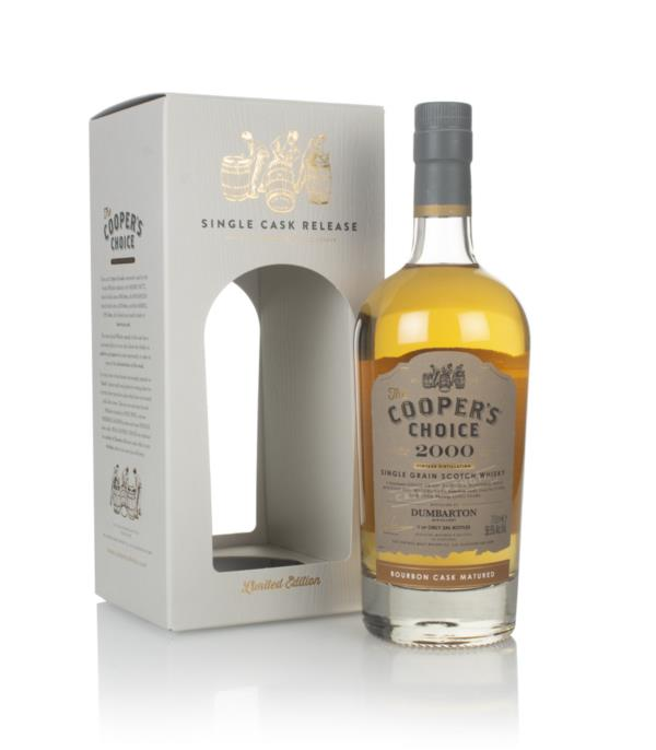Dumbarton 20 Year Old 2000 (cask 211094) - The Cooper's Choice (The Vi Grain Whisky