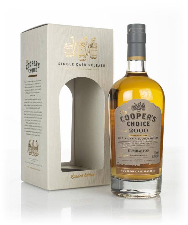 Dumbarton 20 Year Old 2000 (cask 211097) -  The Coopers Choice (The V Grain Whisky