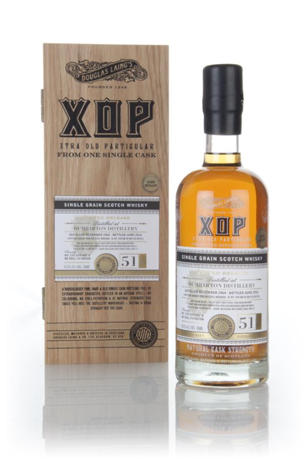 Dumbarton 51 Year Old 1964 (cask 11181) - Xtra Old Particular (Douglas Grain Whisky 3cl Sample