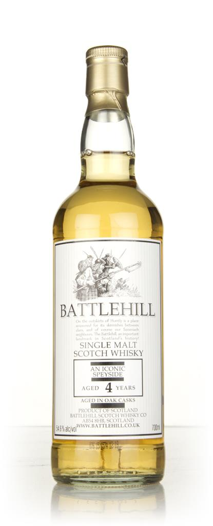 An Iconic Speyside 4 Year Old 2010 - Battlehill (Duncan Taylor) Single Malt Whisky