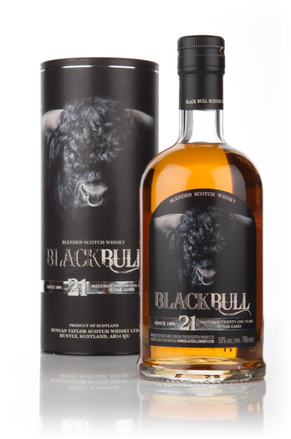 Black Bull 21 Year Old (Duncan Taylor) Blended Whisky