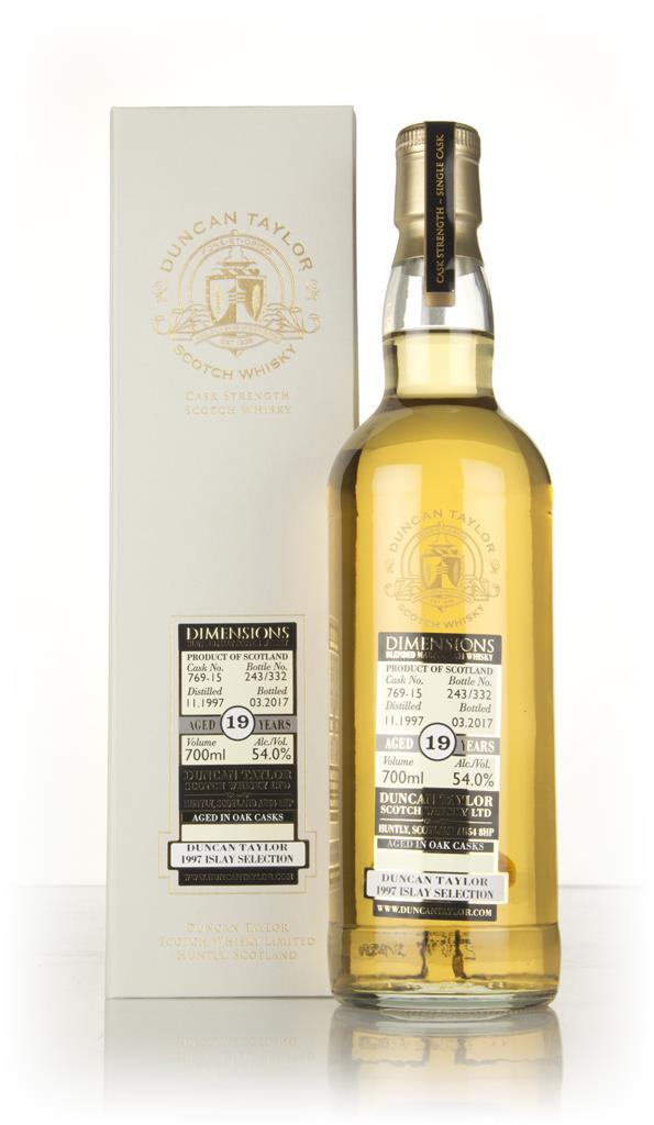 Islay Selection 19 Year Old 1997 (cask 76915) -  Dimensions (Duncan Ta Blended Malt Whisky