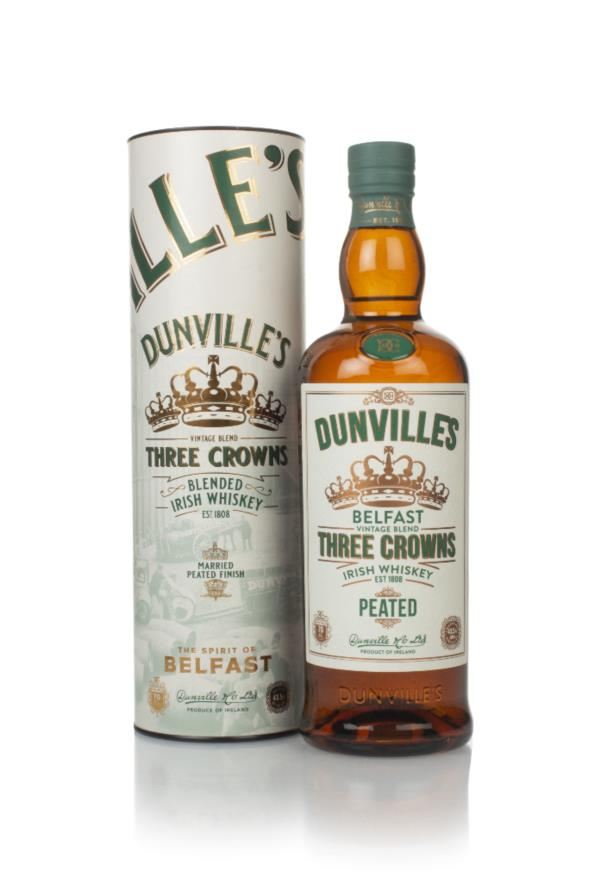 Dunvilles Peated Three Crowns Blended Whiskey