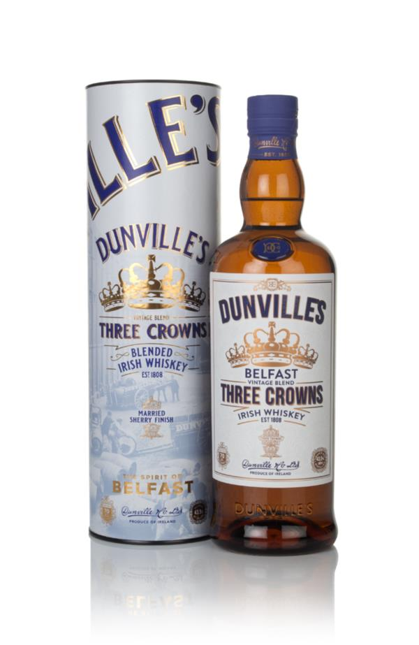 Dunvilles Three Crowns Blended Whiskey