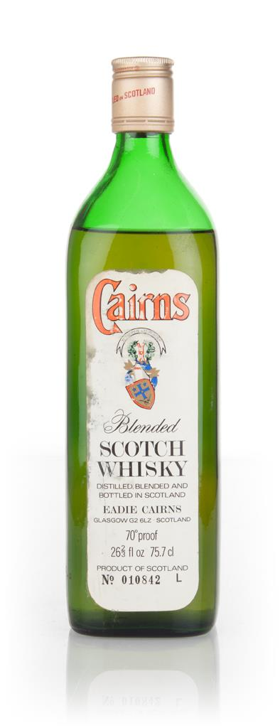 Eadie Cairns Blended Scotch Whisky - 1970s Blended Whisky
