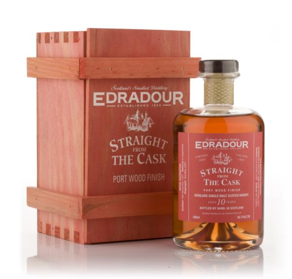 Edradour 10 Year Old 1997 Port Wood Finish - Straight from the Cask Single Malt Whisky