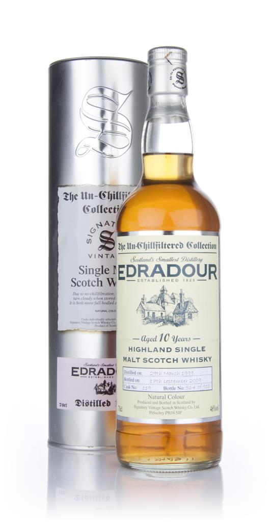 Edradour 10 Year Old 1999 - Un-Chillfiltered (Signatory) Single Malt Whisky