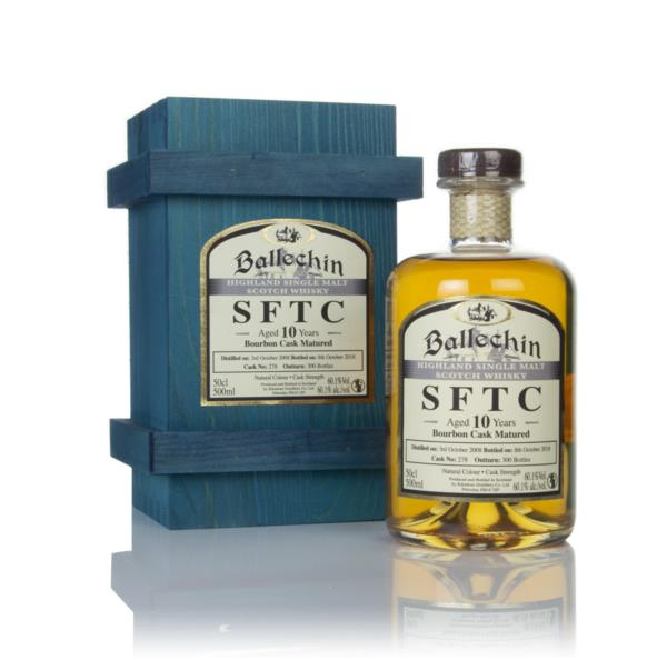 Ballechin 10 Year Old 2008 (cask 278) - Straight From The Cask Single Malt Whisky