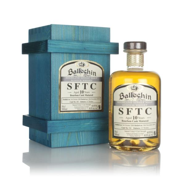 Ballechin 10 Year Old 2008 (cask 280) - Straight From The Cask Single Malt Whisky