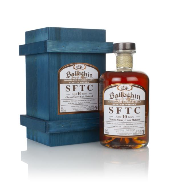 Ballechin 10 Year Old 2010 (cask 198) -  Straight From The Cask Single Malt Whisky