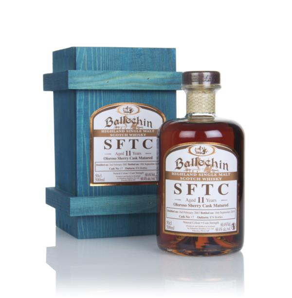 Ballechin 11 Year Old 2007 (cask 17) - Straight From The Cask Single Malt Whisky