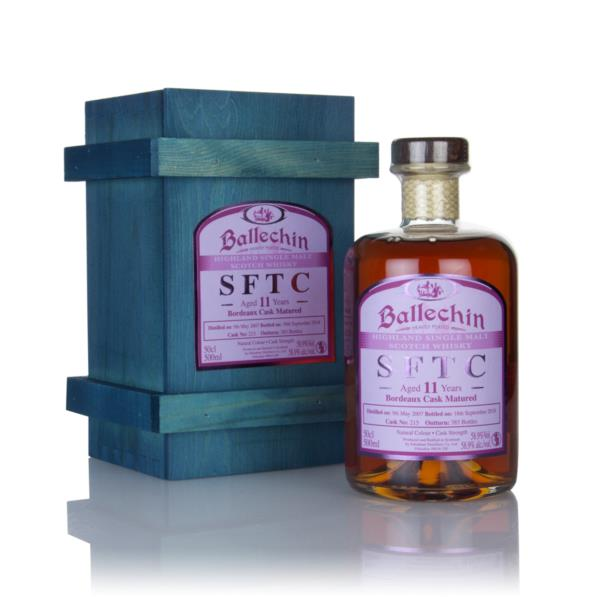 Ballechin 11 Year Old 2007 (cask 215) - Straight From The Cask Single Malt Whisky
