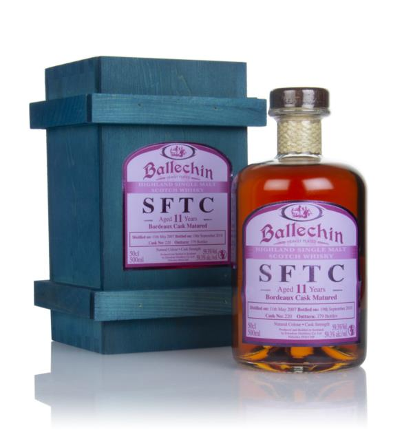 Ballechin 11 Year Old 2007 (cask 220) - Straight From The Cask Single Malt Whisky