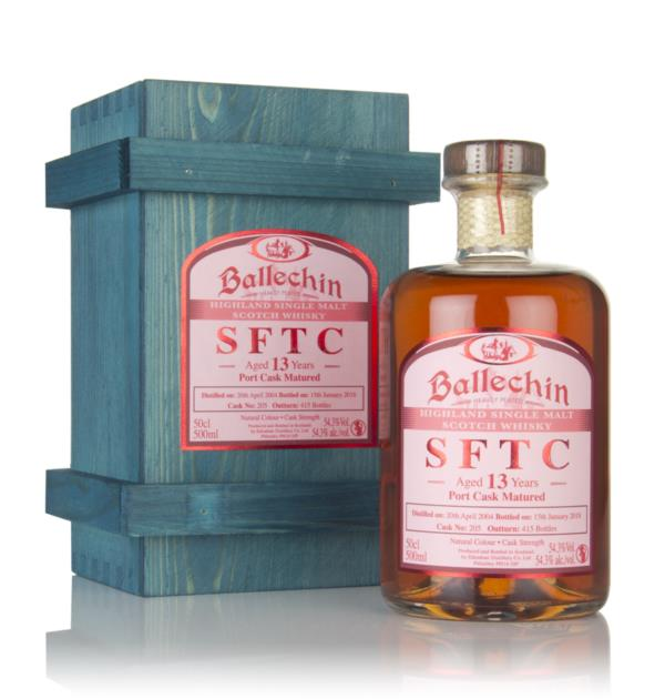 Ballechin 13 Year Old 2004 (cask 205) - Straight From The Cask Single Malt Whisky