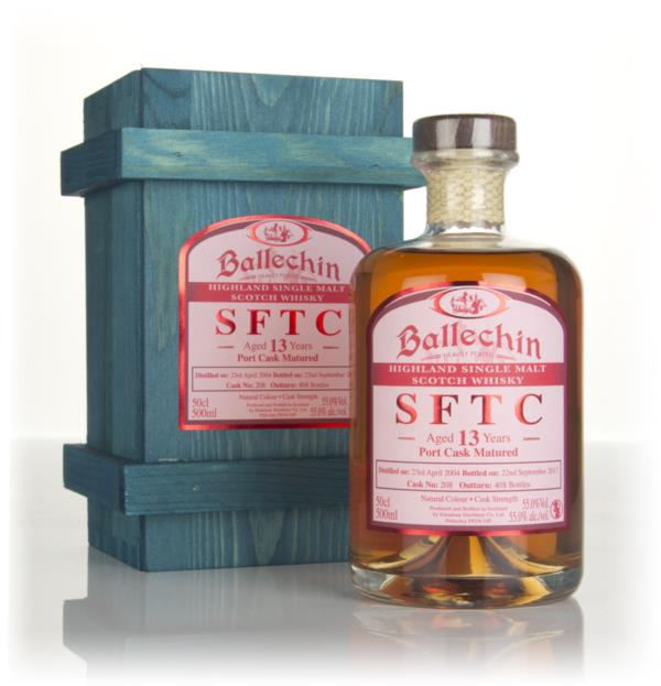 Ballechin 13 Year Old 2004 (cask 208) - Straight From The Cask Single Malt Whisky