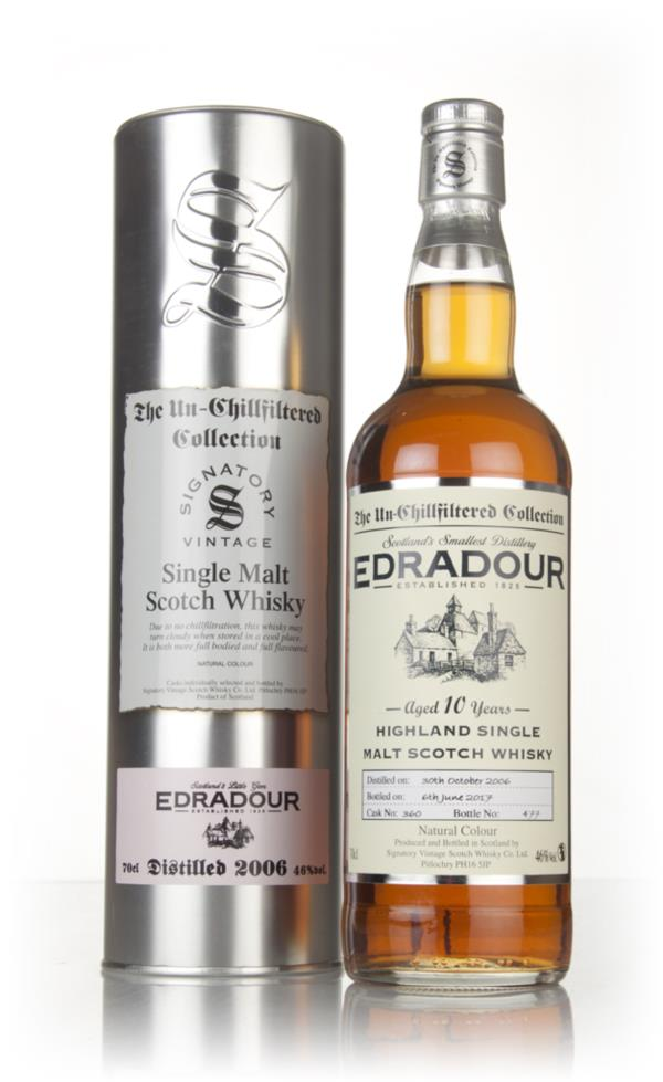 Edradour 10 Year Old 2006 (cask 360)  - Un-Chillfiltered Collection (S Single Malt Whisky