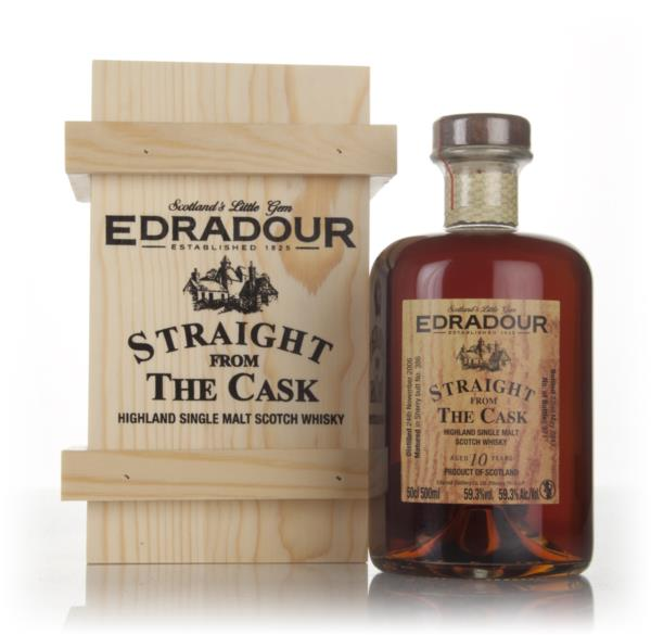 Edradour 10 Year Old 2006 (cask 386) - Straight From The Cask Single Malt Whisky