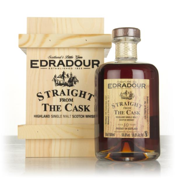 Edradour 10 Year Old 2007 (cask 317) - Straight From The Cask Single Malt Whisky