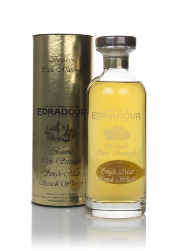 Edradour 10 Year Old 2008 Bourbon Cask Matured Natural Cask Strength - Single Malt Whisky