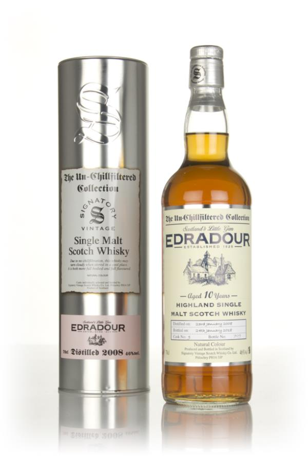 Edradour 10 Year Old 2008 (cask 9) - Un-Chillfiltered Collection (Sign Single Malt Whisky