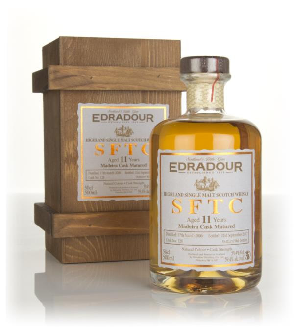 Edradour 11 Year Old 2006 (cask 128) - Straight From The Cask Single Malt Whisky