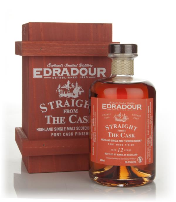 Edradour 12 Year Old 2000 Port Wood Finish - Straight from the Cask Single Malt Whisky