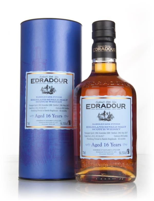 Edradour 16 Year Old 2000 - Barolo Cask Finish 56.1% Single Malt Whisky