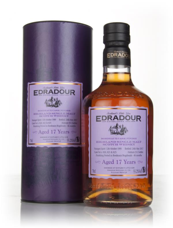 Edradour 17 Year Old 1999 - Bordeaux Cask Finish (55.2%) 3cl Sample Single Malt Whisky