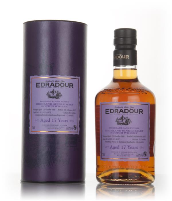 Edradour 17 Year Old 1999 - Bordeaux Cask Finish 3cl Sample Single Malt Whisky