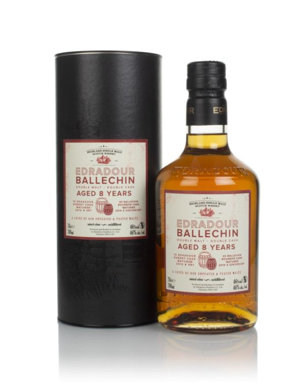 Edradour Ballechin 8 Year Old Double Malt Double Cask Single Malt Whisky