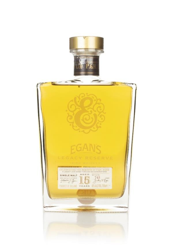 Egans 15 Year Old Legacy Reserve Single Malt Whiskey