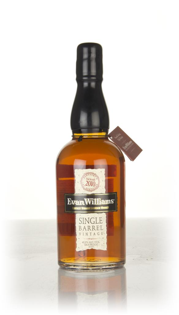 Evan Williams Single Barrel 2010 (bottled 2018) Bourbon Whiskey