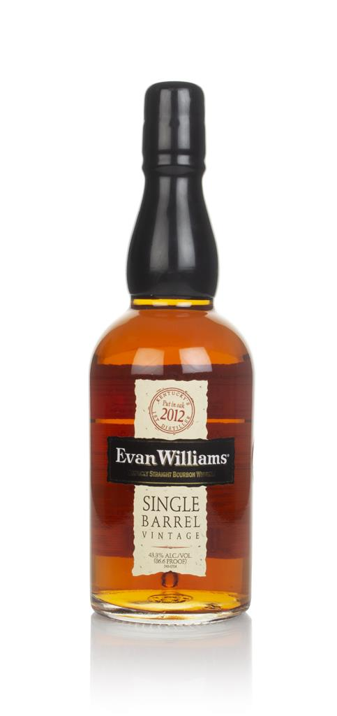 Evan Williams Single Barrel 2010 (bottled 2017) Bourbon Whiskey