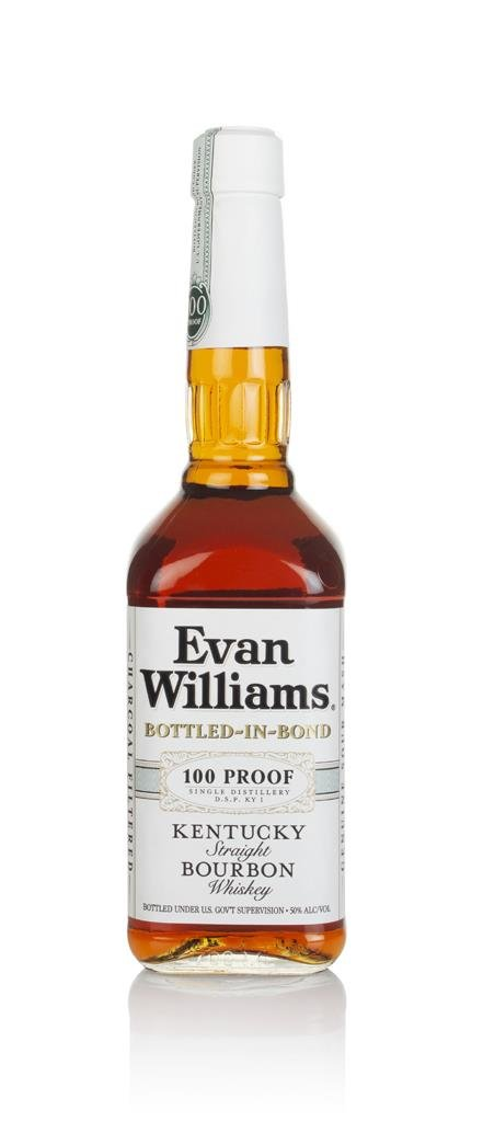 Evan Williams White Label Bourbon Whiskey
