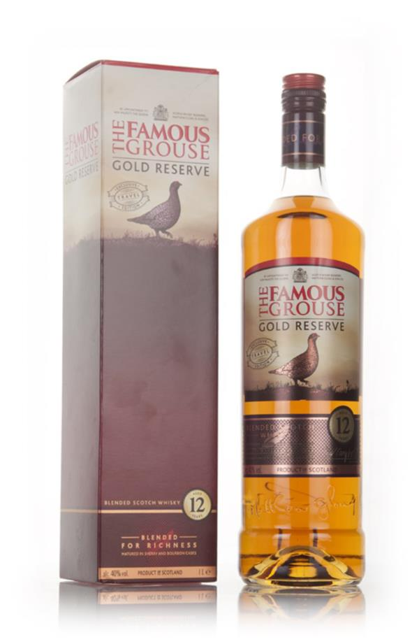 Famous Grouse Gold Reserve 12 Year Old 1l Blended Whisky