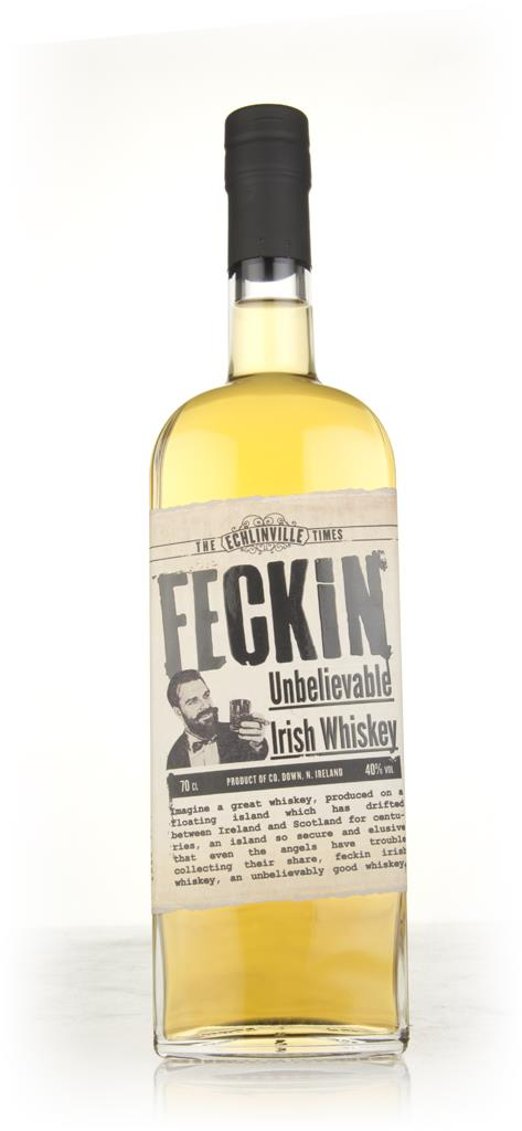 Feckin Irish Blended Whiskey