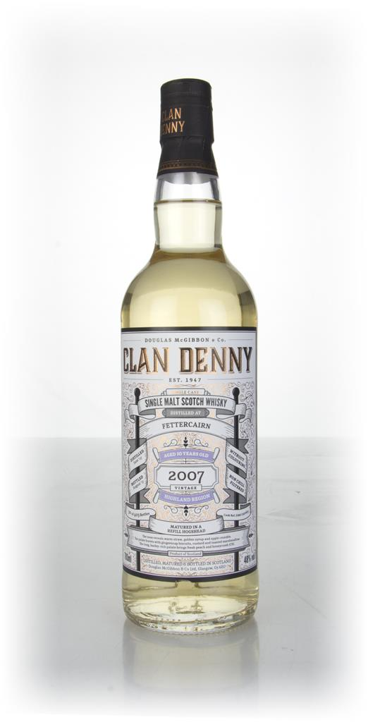 Fettercairn 10 Year Old 2007 (cask 12065) - Clan Denny (Douglas Laing) Single Malt Whisky