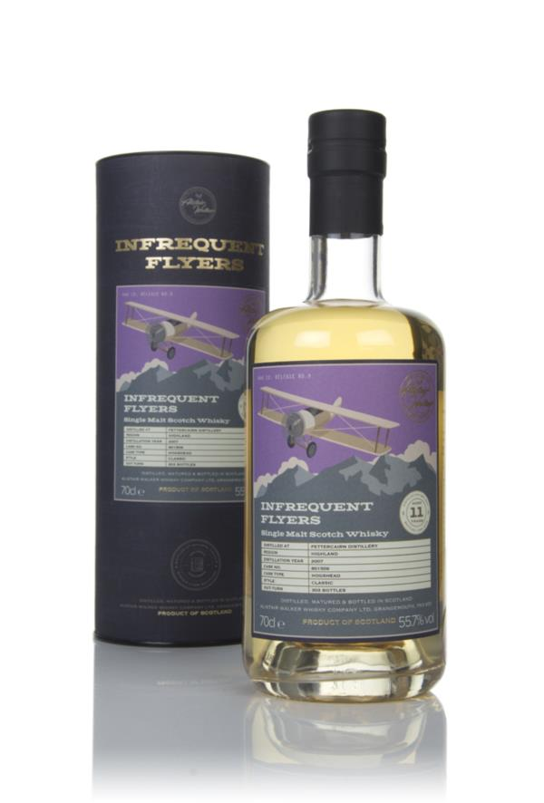 Fettercairn 11 Year Old 2007 (cask 801506) - Infrequent Flyers (Alista Single Malt Whisky