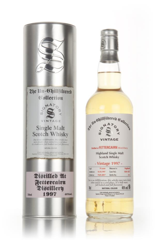 Fettercairn 19 Year Old 1997 (cask 5626 & 5627) - Un-Chillfiltered Col Single Malt Whisky
