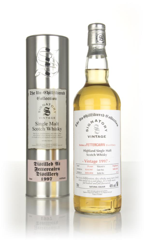 Fettercairn 20 Year Old 1997 (casks 5604 & 5605) - Un-Chillfiltered Co Single Malt Whisky