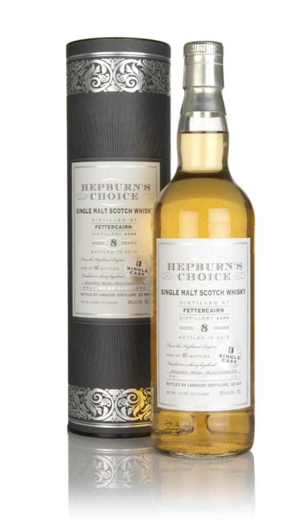 Fettercairn 8 Year Old 2008 - Hepburn's Choice (Langside) Single Malt Whisky