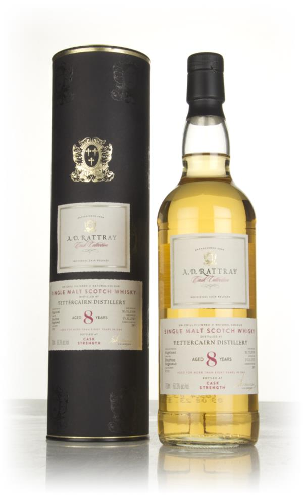 Fettercairn 8 Year Old 2009 (cask 1091)- Cask Collection (A.D. Rattray Single Malt Whisky