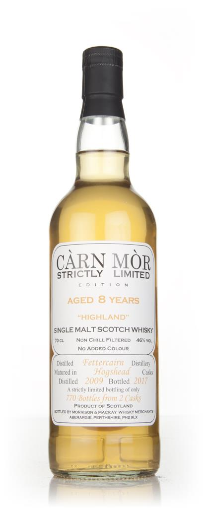 Fettercairn 8 Year Old 2009 - Strictly Limited (Carn Mor) Single Malt Whisky
