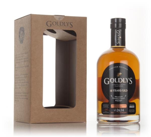 Goldlys 12 Year Old Amontillado Cask Finish (cask 2634) Grain Whisky