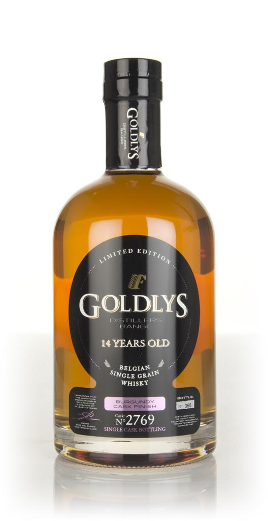 Goldlys 14 Year Old Burgundy Cask Finish (Cask 2769) - Distillers Rang Grain Whisky