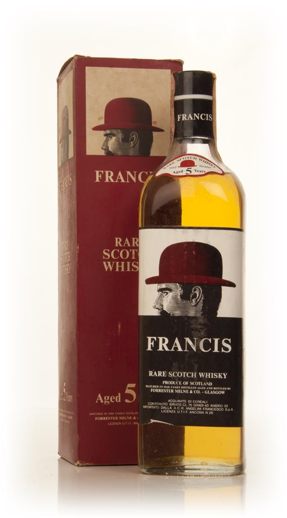 Francis 5 Year Old - 1970s Blended Whisky