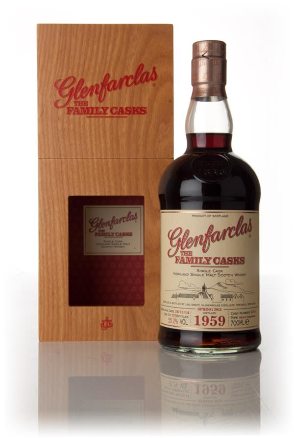 Glenfarclas 1959 (cask 3226) Family Cask Spring 2015 Release Single Malt Whisky