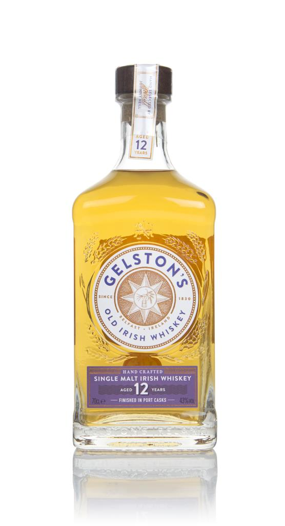 Gelstons 12 Year Old Port Cask Finish Single Malt Whiskey