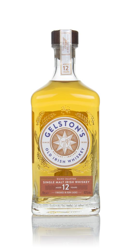 Gelstons 12 Year Old Rum Cask Finish Single Malt Whiskey